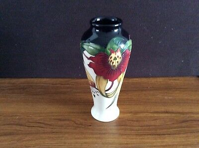 21cm high Moorcroft Anna Lily vase by Nicola Slaney