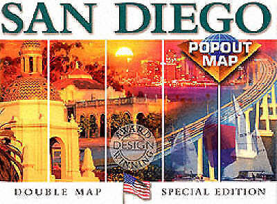 (Good)-San Diego (USA PopOut Maps S.) (Paperback)-Compass Maps-1841390291