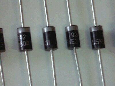 10x TVS Diode 1,5KE..A 1500W Transient Voltage Suppressor Diode unidirektional