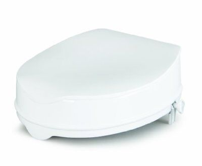 Raised Toilet Seat With Lid 5 Cm/2 Inches eligible For Vat Relief In The Uk