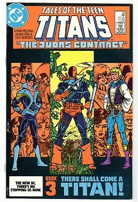 Tales of the Teen Titans #44 (Jul 1984) VF Condition 1st Nightwing Appearance
