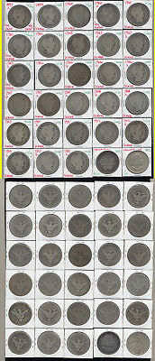 Lot Of 28 Barber Half Dollars +2 Columbian Halves- Very Popular