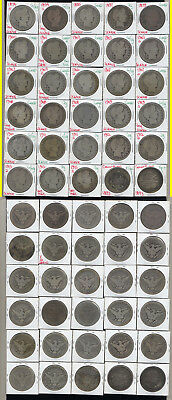 Lot Of 28 Barber Half Dollars +2 Columbian Halves- Scarce- No Reserve