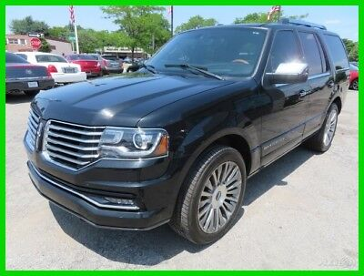 Lincoln Navigator  2015 Used Turbo 3.5L V6 24V Automatic 4WD SUV Moonroof Premium