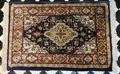 Dollhouse Miniature Artisan Barry Dawson Classic Carpets Silk Carpet (R)