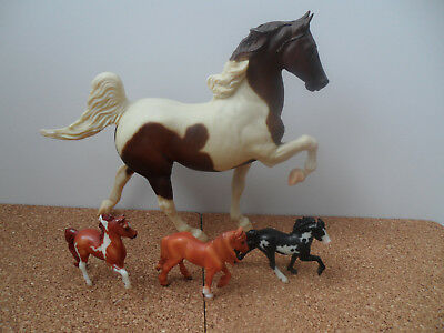 breyer model horse mixed lot saddlebred stablemates morgan cob icelandic