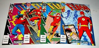 FLASH  #62 #63 #64 and #65  RUN OF FOUR (4)  COPPER AGE ISSUES   Free Shipping