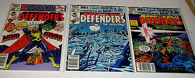 Defenders #102 #103 And #104  Three Issue Bronze Age Marvel Run