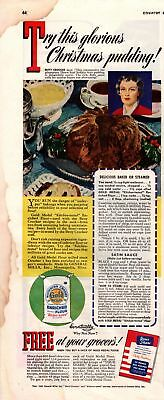 1943 Country Gentleman Magazine Advertisement Gold Medal Flour 1 Page A407