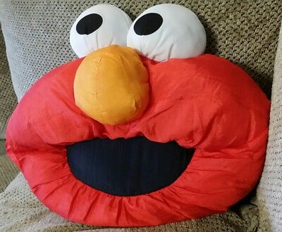 1996 sesame street Elmo Muppets Plush Pillow By Play By Play Jim Henson vintage