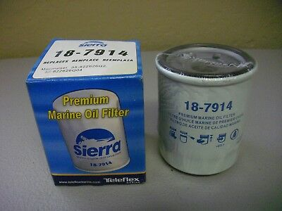 Sierra Premium oil filter 18-7914 Mercury Mainer 35-822626Q2 Q4