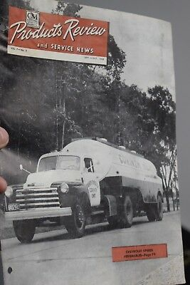 antique 1948 CHEVROLET GM GMC products magazine advertising canadian trucks