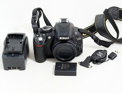 Nikon D3100 14.2MP Digital SLR Camera Body Only LOW SHUTTER COUNT
