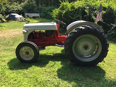 Ford  1952 8N Tractor Very Clean 5 Year Old Restoration Many New Parts No Reserv
