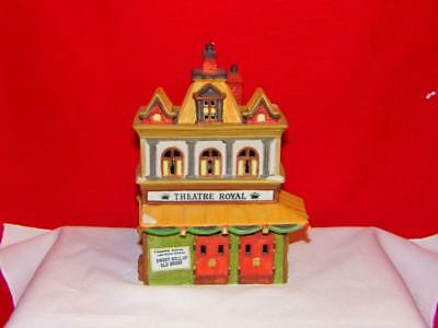 Dept 56 Dickens Village *theatre Royal* 55840 Retired In Box Mint