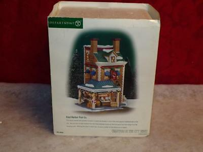 Dept 56 Christmas In The City Series East Harbor Fish Co