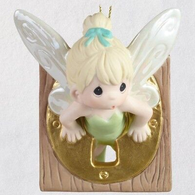 2018 Hallmark Disney Peter Pan Tinker Bell Precious Moments Porcelain Ltd