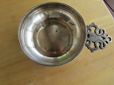 Antique 1895 Quadruple Plate Nappy By Rogers Silver Co Anchor Mark Rare