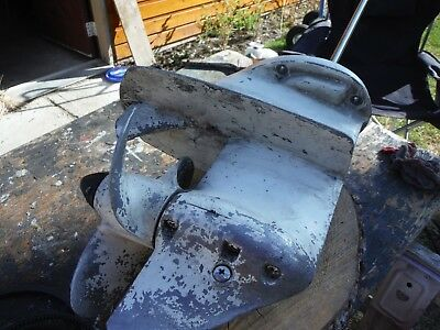 Lower unit with prop propeller Johnson Evinrude 6 hp horse power 6r77m 0387334