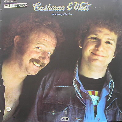 CASHMAN & WEST - A Song Or Two - Vinyl LP - 1972 - Made in Germany
