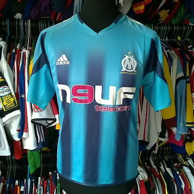 Olympique Marseille 2004 Away Football Shirt Adidas Jersey Size Adult S
