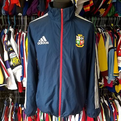 British Lions 2013 Waterproof Union Rugby Shirt Training Adidas Size Adult L