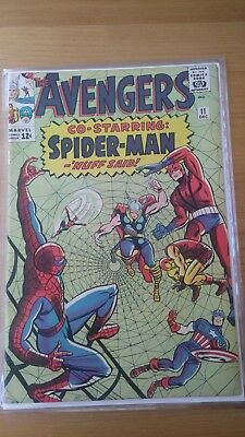 Avengers Vol 1 #11 Spider-Man Appearance