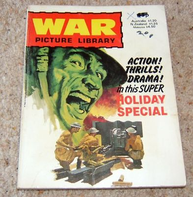 War Picture Library Holiday Special 1981, Good reading cond'n, 6 stories (#497)