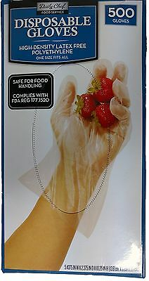 Daily Chef Disposable Gloves 500 Count