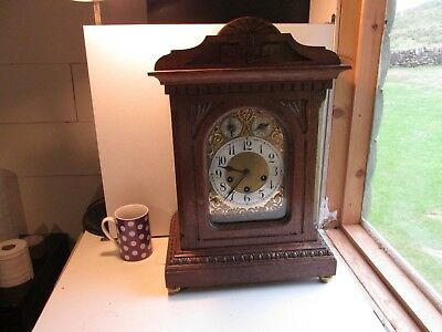 bracket clock c1900           heavy around 7 kilo