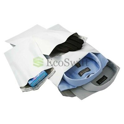 1-10000 9x9 EcoSwift Square Poly Mailers Envelopes Plastic Shipping Bags 1.7 MIL