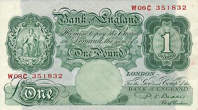 Bank of England Great Britain  1 Pound ND   EF - AU