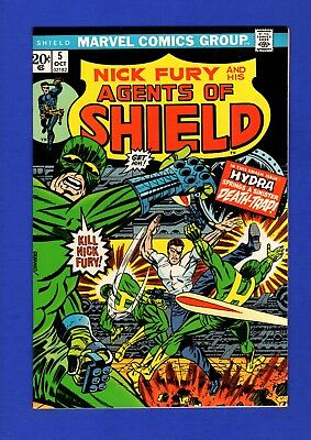 Nick Fury And His Agents Of Shield #5 Nm- 9.2/9.4 Glossy Bronze Age Marvel