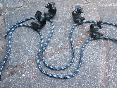 Pair Windsurfing 'Open Ocean' clamp on harness lines