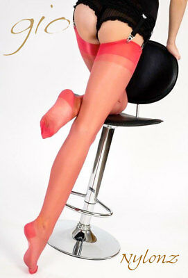 af513eb4e GIO RHT STOCKINGS   Nylons - CORAL - Perfects - EUR 14