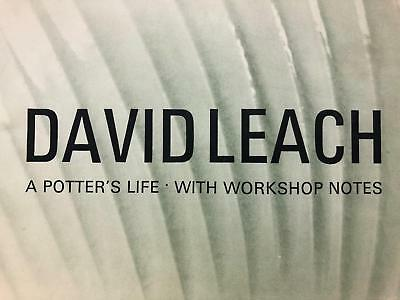 Rare David Leach - A Potter's Life, Scarce 1977 Publication by Fournier Pottery