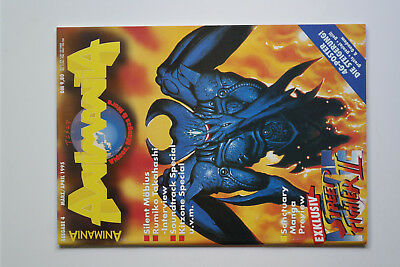 Animania # 4 1995 - Street Fighter R.Takahashi Sanctuary - POSTER - TOP ZUSTAND