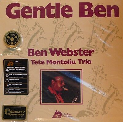Ben Webster - Analogue Productions Apj-040-45 Gentle Ben 2Lp 200G Uvp €74
