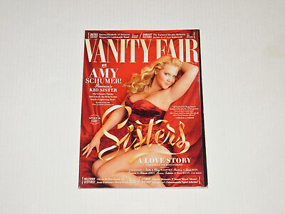 Vanity Fair Magazine May 2016 Amy Schumer Hollywood Sisters Special Issue