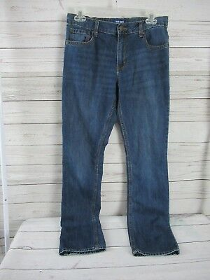 Old Navy Boys Skinny Jeans Size 16 Adjustable Waist