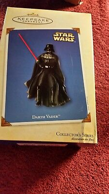 Hallmark Keepsake Ornament Star Wars Darth Vader 2002 NIB