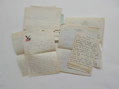 24 WWII Letters Soldier Army Correspondence World War Two Lot WW2