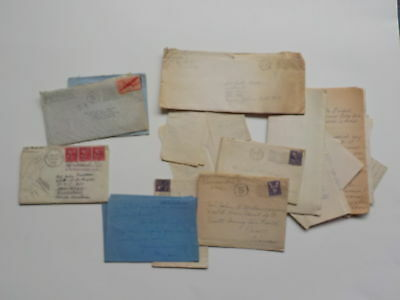22 WWII Letters Air Force John Matson World War Two VTG Military Old WW WW2 Lot