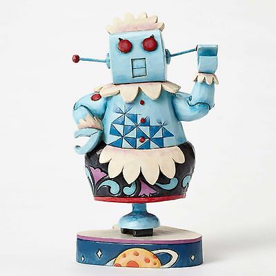 * JIM SHORE HANNA BARBERA JETSONS Figurine Statue ROSIE THE ROBOT Quilted Art