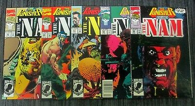 The Nam 52,53,67,68,69 The Punisher Invades Nam Series
