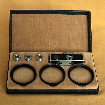 Contameter 1343 Zeiss Ikon close up device 50mm for Contax rangefinder Proxar