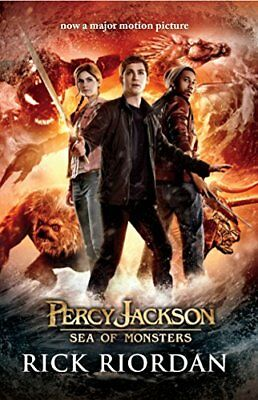 (Good)-Percy Jackson and the Sea of Monsters (Paperback)-Riordan, Rick-014134613