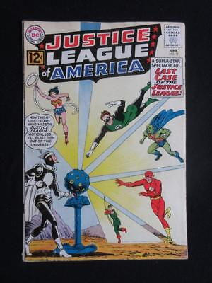 Justice League of America #12 1962 - ORIGIN& 1st app Dr. Light - Wonder Woman!!!