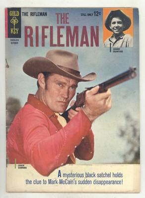 October 1964 THE RIFLEMAN #20 TV comic book CHUCK CONNORS, JOHNNY CRAWFORD. Nice