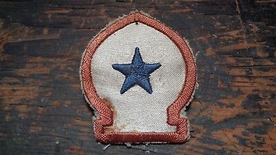 RARE WWII vintage North African Theater patch hand embroidered theater made